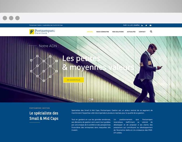 Agence SAND (communication Finance) - Portzamparc Gestion